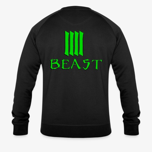 Beast Green - Men's Organic Sweatshirt by Stanley & Stella
