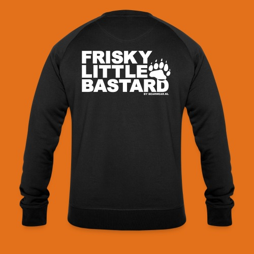 frisky little bastard new - Men's Organic Sweatshirt by Stanley & Stella