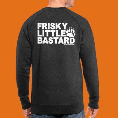 frisky little bastard new - Men's Organic Sweatshirt
