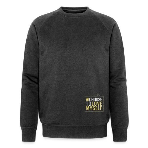 #ictlm 01 weiß - Männer Bio-Sweatshirt von Stanley & Stella