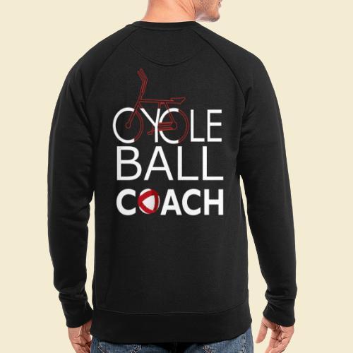 Radball | Cycle Ball Coach - Männer Bio-Sweatshirt