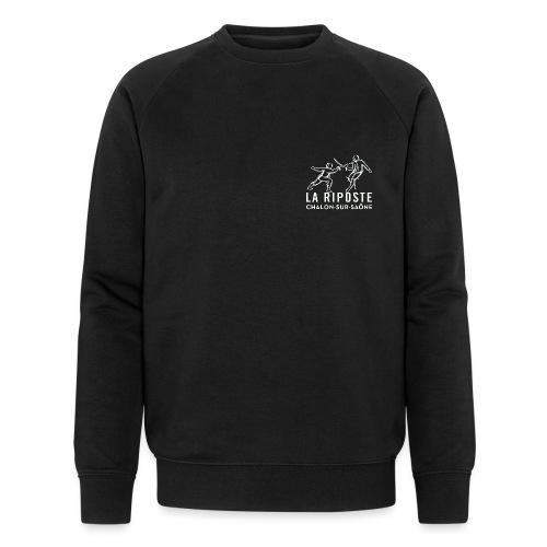 La Riposte Blanc - Sweat-shirt bio Stanley & Stella Homme