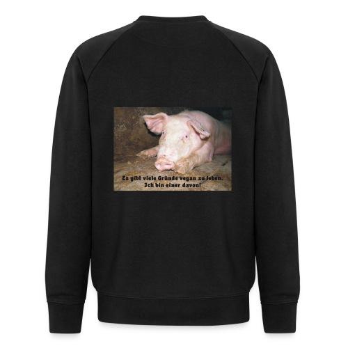 Gründe vegan zu leben - Männer Bio-Sweatshirt von Stanley & Stella