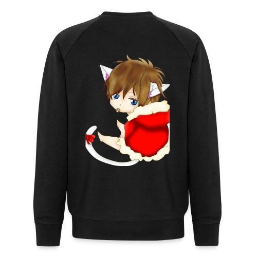Cute Christmas Fox boy - Männer Bio-Sweatshirt von Stanley & Stella