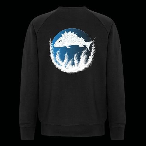 Fisch - Männer Bio-Sweatshirt von Stanley & Stella