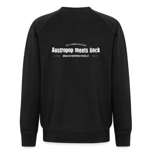 AMR Logo vintage back - Männer Bio-Sweatshirt von Stanley & Stella