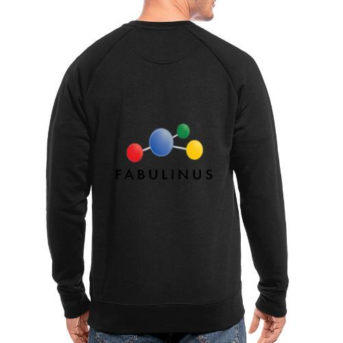 Fabulinus logo enkelzijdig - Mannen bio sweatshirt