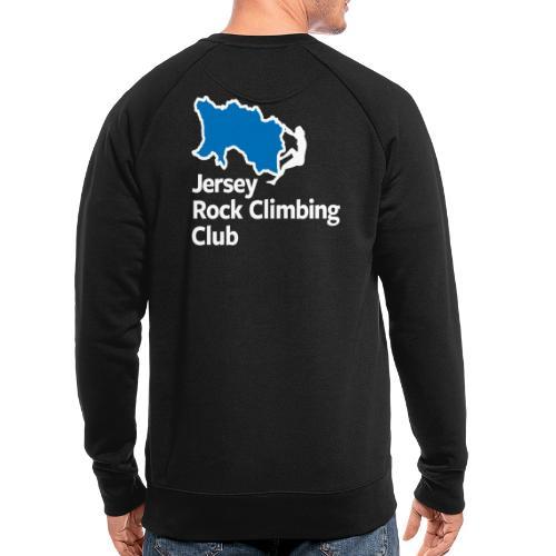 Club Logo - Stacked [White] - Men's Organic Sweatshirt