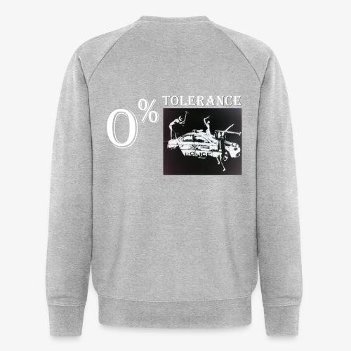 Tolerance - Männer Bio-Sweatshirt