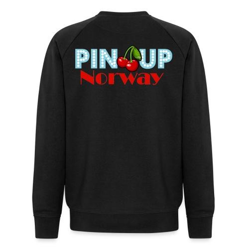 Pinup Norway Fan Club - Økologisk sweatshirt for menn fra Stanley & Stella