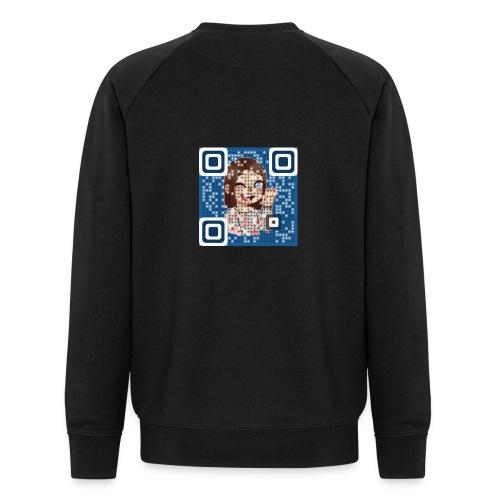 nattieQR - Økologisk Stanley & Stella sweatshirt til herrer