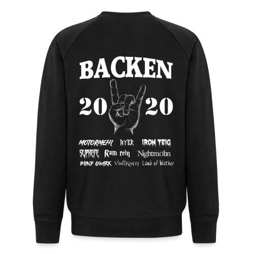 Backen 2020 | Lustiges Backen mit den größten - Männer Bio-Sweatshirt von Stanley & Stella