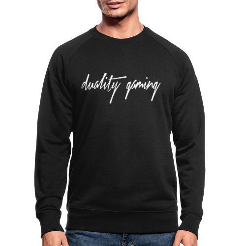 duality gamingtext - Ekologisk sweatshirt herr