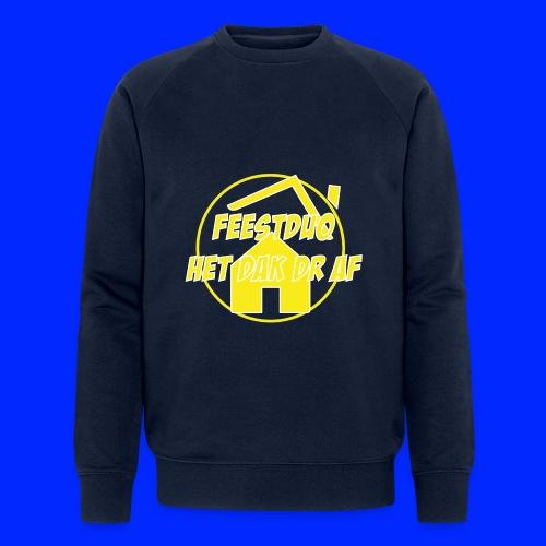 Geel Logo - Mannen bio sweatshirt van Stanley & Stella