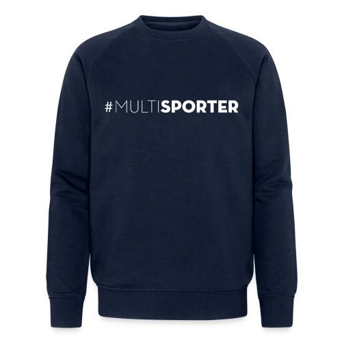 #MULTISPORTER wit - Mannen bio sweatshirt van Stanley & Stella