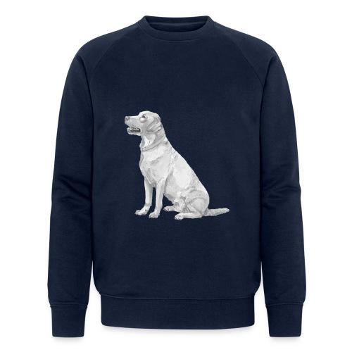 labrador Retriever Gul - Økologisk Stanley & Stella sweatshirt til herrer