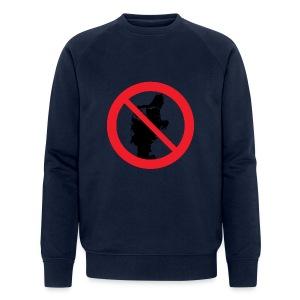 Jylland forbudt - Økologisk Stanley & Stella sweatshirt til herrer