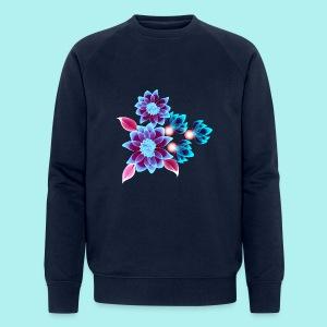 Hypnotic flowers - Sweat-shirt bio Stanley & Stella Homme