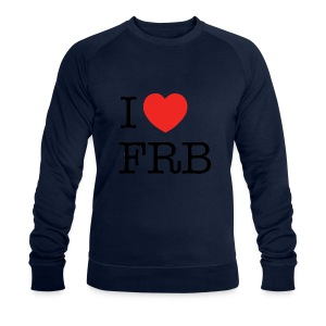 I Love FRB - Workwear - Økologisk Stanley & Stella sweatshirt til herrer