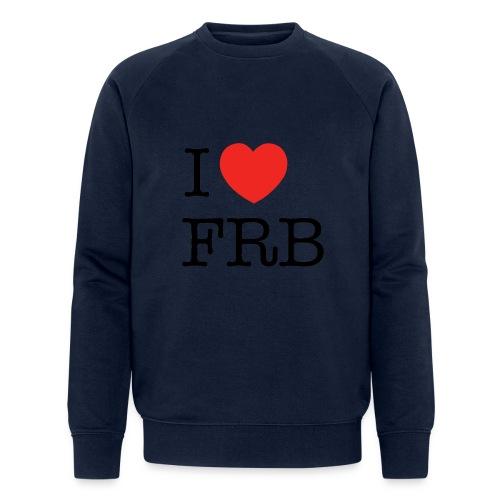 I Love FRB - Streetwear - Økologisk Stanley & Stella sweatshirt til herrer
