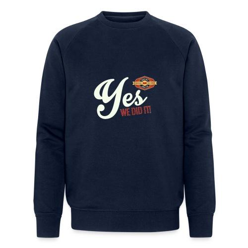 YES-creme-nappo - Männer Bio-Sweatshirt von Stanley & Stella