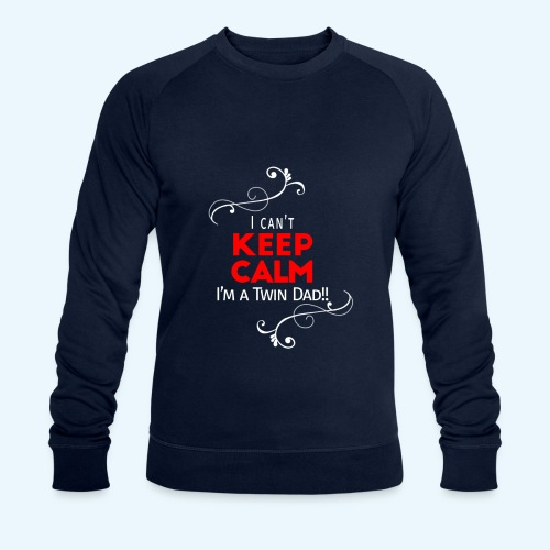 I Can't Keep Calm (alleen voor pappie!) - Mannen bio sweatshirt van Stanley & Stella