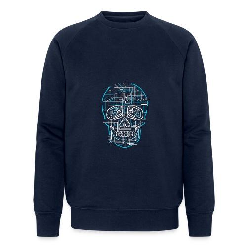 electric skull tshirt ✅ - Männer Bio-Sweatshirt von Stanley & Stella