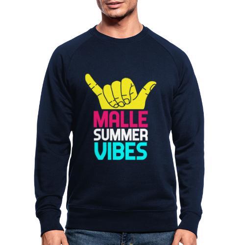 MALLE Summer Vibes, Party Urlaub Spanien Mallorca - Männer Bio-Sweatshirt