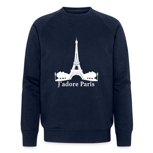 Design j'adore paris ma ville - Sweat-shirt bio Stanley & Stella Homme