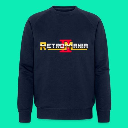 Retro Mania II - Logo - Männer Bio-Sweatshirt von Stanley & Stella