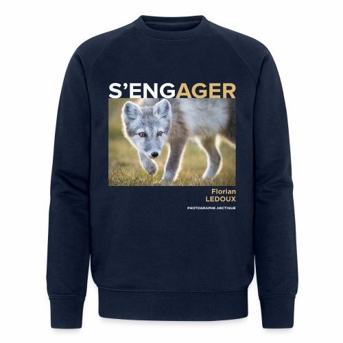 1 Achat = 1 Don à l'association ArcticArtsProject - Sweat-shirt bio