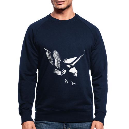 Aquila - Felpa ecologica da uomo