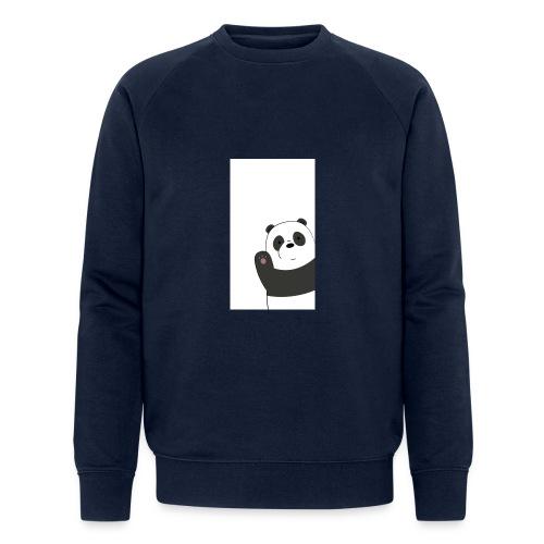 We bare bears panda design - Mannen bio sweatshirt van Stanley & Stella
