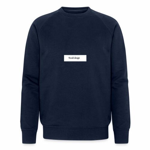 Kocak design - Økologisk sweatshirt til herrer