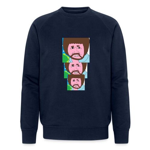 Bob Ross - Men's Organic Sweatshirt by Stanley & Stella