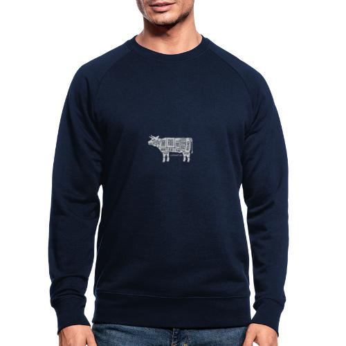 cutbeefw - Männer Bio-Sweatshirt