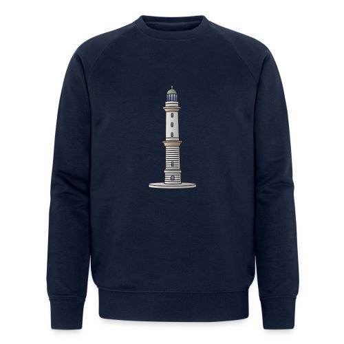 Leuchtturm Warnemünde Rostock c - Männer Bio-Sweatshirt von Stanley & Stella