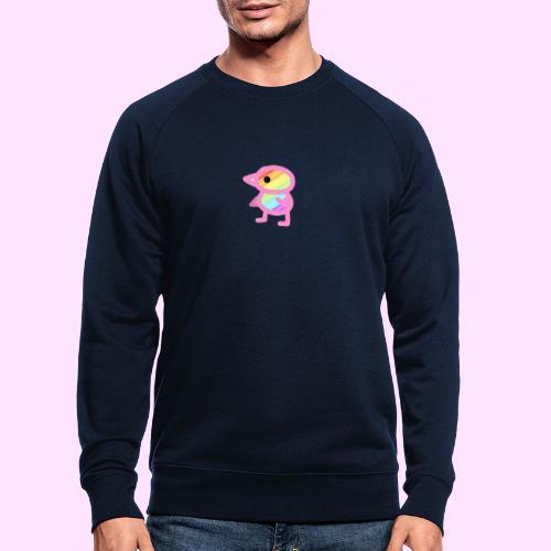 Rainbowguin - Økologisk sweatshirt til herrer