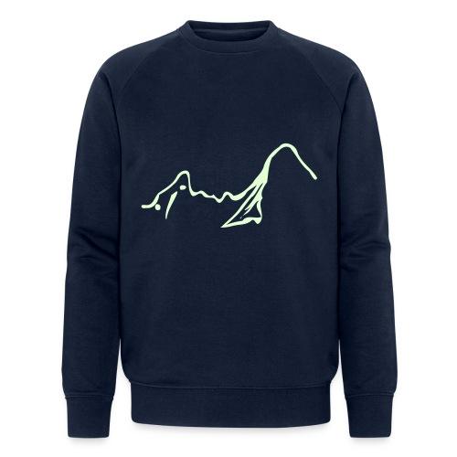 Watzmann pur - Männer Bio-Sweatshirt von Stanley & Stella