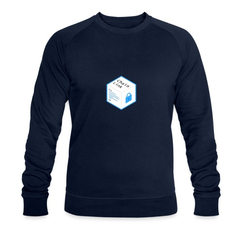 Cryptocurrency - ChainLink - Männer Bio-Sweatshirt