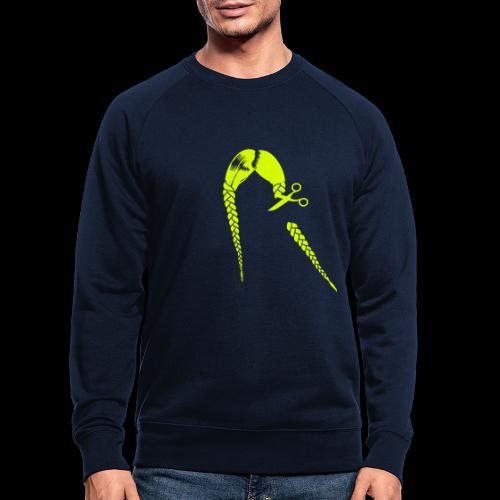 Greta FFF Fridays for future & Fridays for Hubraum - Männer Bio-Sweatshirt