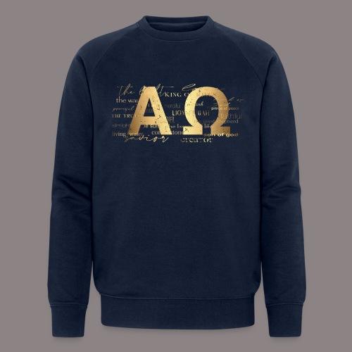Alpha @ Omega - Männer Bio-Sweatshirt von Stanley & Stella