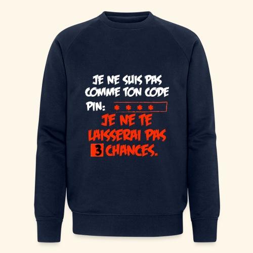 not pin - Sweat-shirt bio Stanley & Stella Homme
