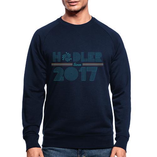 IOTA Hodler since 2017 - Männer Bio-Sweatshirt