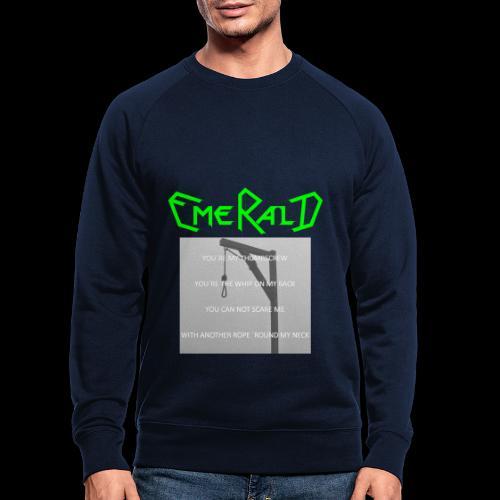 Emerald - Männer Bio-Sweatshirt