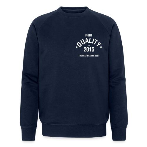 Est 2015 - Men's Organic Sweatshirt by Stanley & Stella