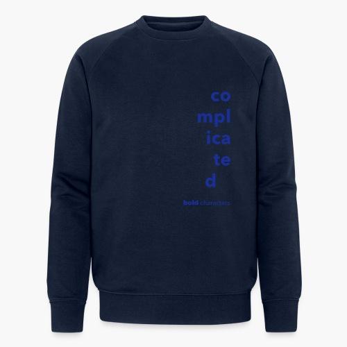 Complicated - Mannen bio sweatshirt van Stanley & Stella