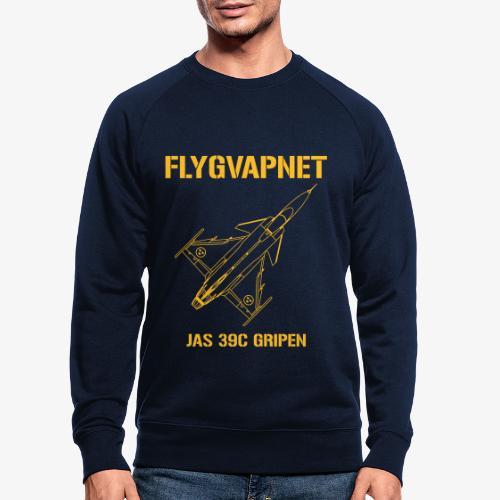 FLYGVAPNET - JAS 39C - Ekologisk sweatshirt herr