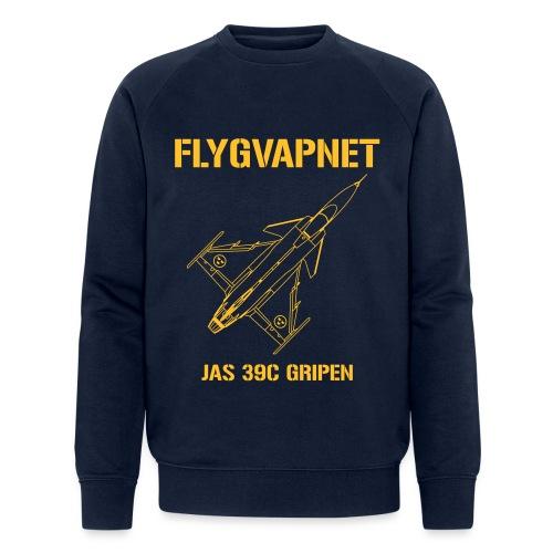 FLYGVAPNET - JAS 39C - Ekologisk sweatshirt herr från Stanley & Stella