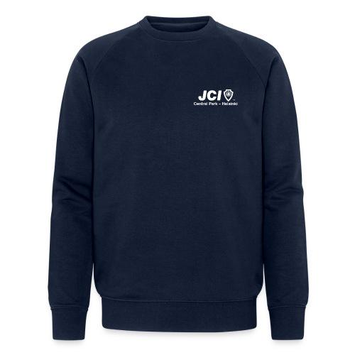 Collegepaita JCI ja I Love Central Park -logoilla - Stanley & Stellan miesten luomucollegepaita